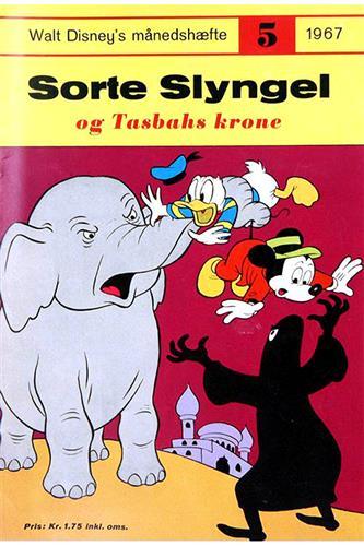 Walt Disneys Månedshæfte 1967 Nr. 5