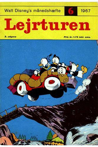 Walt Disneys Månedshæfte 1967 Nr. 6