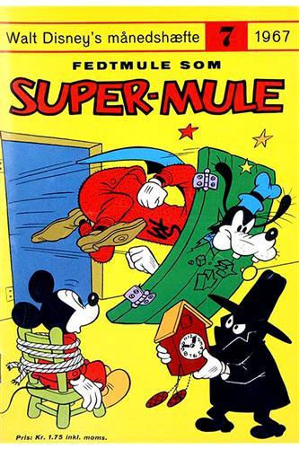 Walt Disneys Månedshæfte 1967 Nr. 7