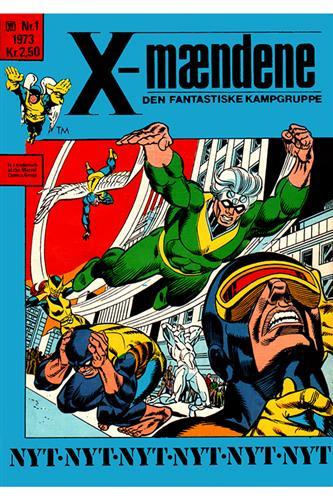 X-Mændene 1973 Nr. 1 (Cuttet Hjørne)