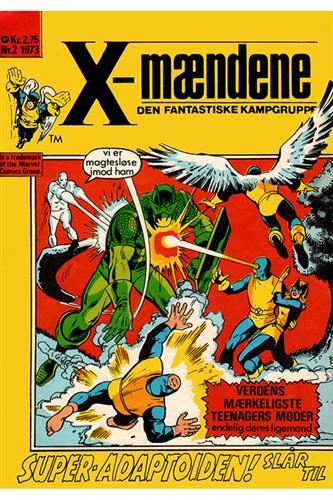 X-Mændene 1973 Nr. 2 (Cuttet Hjørne)