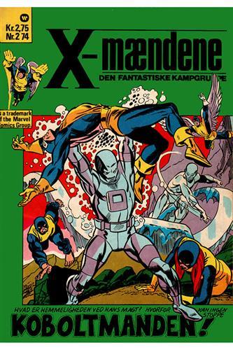 X-Mændene 1974 Nr. 2 (Cuttet Hjørne)