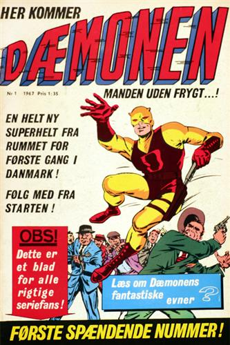 Dæmonen 1967 Nr. 1
