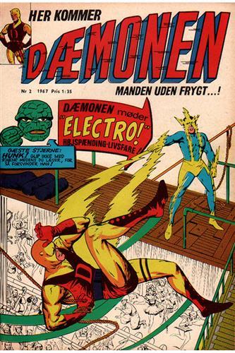 Dæmonen 1967 Nr. 2