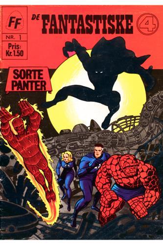 Fantastiske Fire 1967 Nr. 1