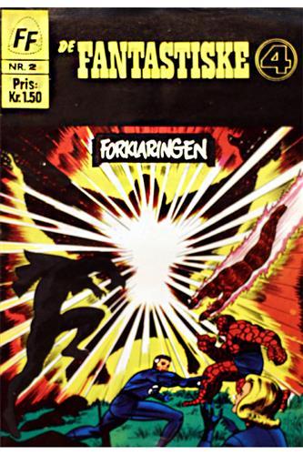 Fantastiske Fire 1967 Nr. 2