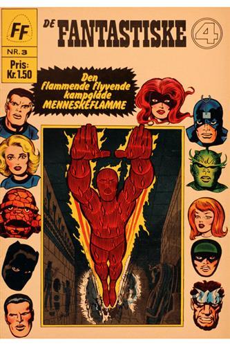 Fantastiske Fire 1967 Nr. 3