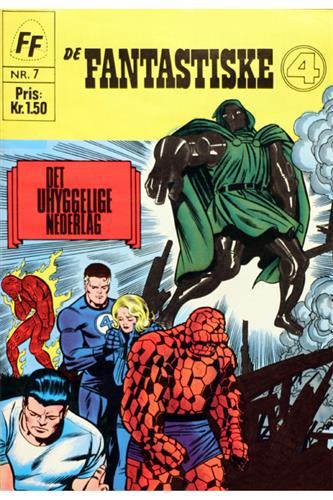Fantastiske Fire 1967 Nr. 7