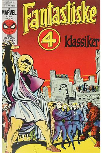 Fantastiske Fire Klassiker 1985 Nr. 2