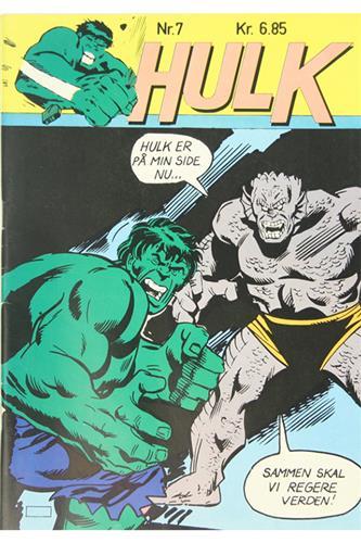 Hulk 1981 Nr. 7
