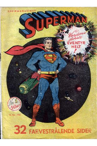 Superman 1950 Nr. 1