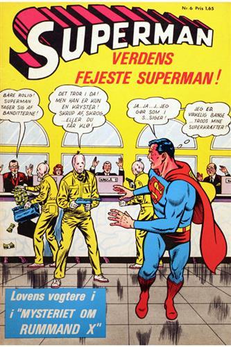 Superman 1966 Nr. 6