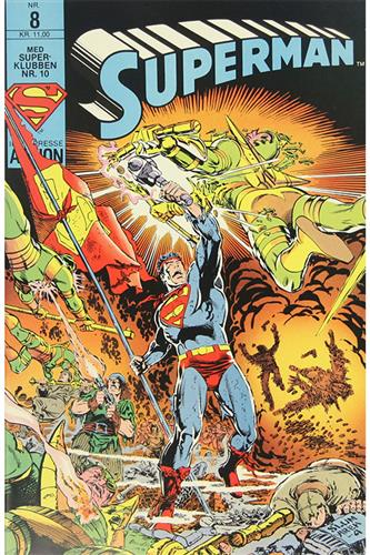 Superman 1987 Nr. 8