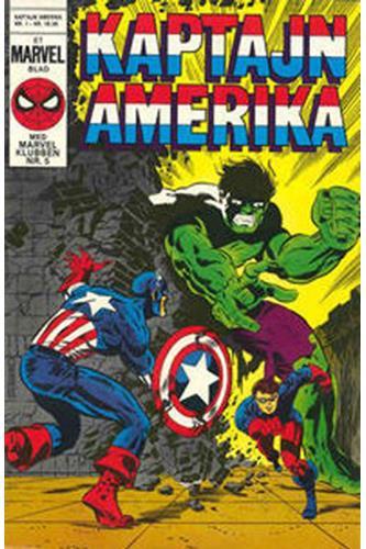 Kaptajn Amerika 1984 Nr. 1