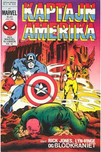 Kaptajn Amerika 1984 Nr. 2