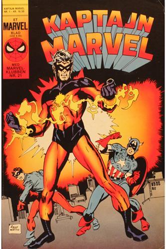 Kaptajn Marvel 1985 Nr. 1