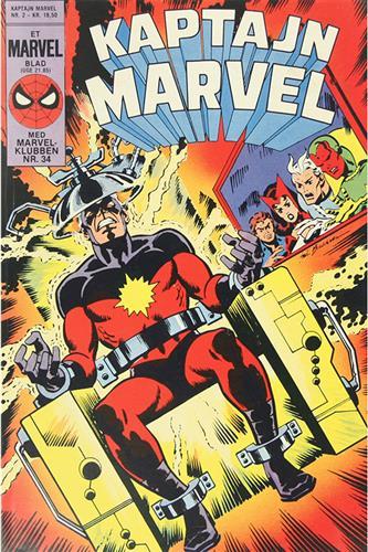 Kaptajn Marvel 1985 Nr. 2