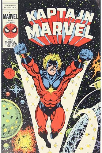 Kaptajn Marvel 1985 Nr. 3
