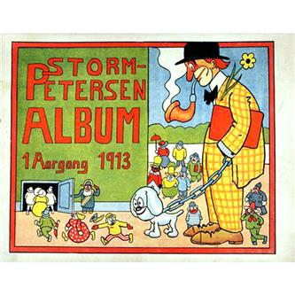 Storm Petersen Album 1913 Nr. 1