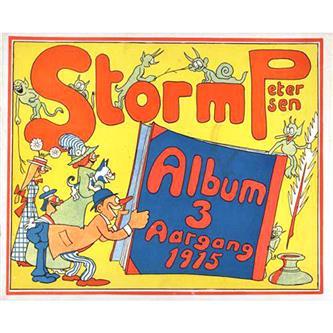 Storm Petersen Album 1915 Nr. 3