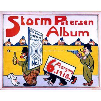 Storm Petersen Album 1918 Nr. 6
