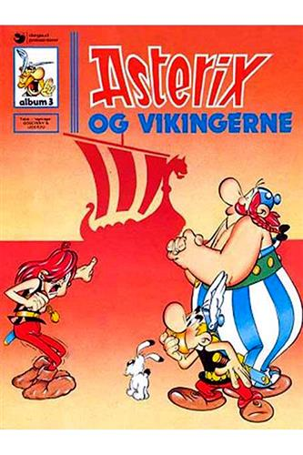 Asterix Nr. 3  - Hardcover