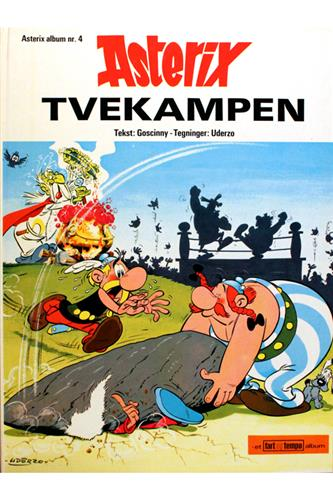 Asterix Nr. 4  - Hardcover