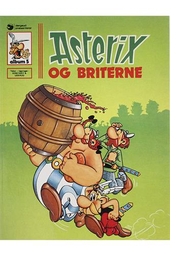 Asterix Nr. 5  - Hardcover