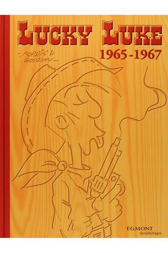 Lucky Luke Samling 9 - 1965-67