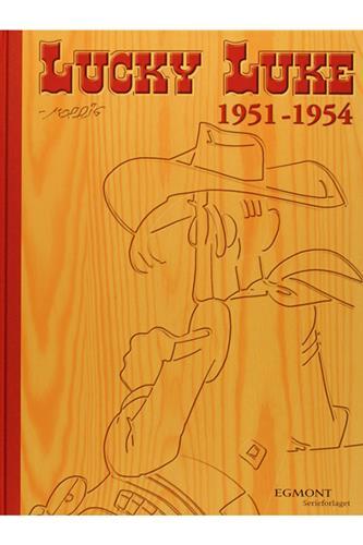 Lucky Luke Samling 10 - 1951-54