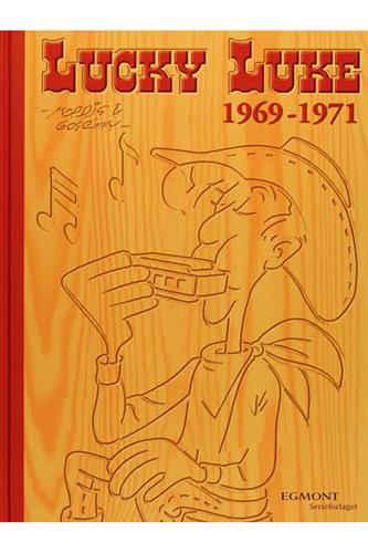 Lucky Luke Samling 12 - 1969-71