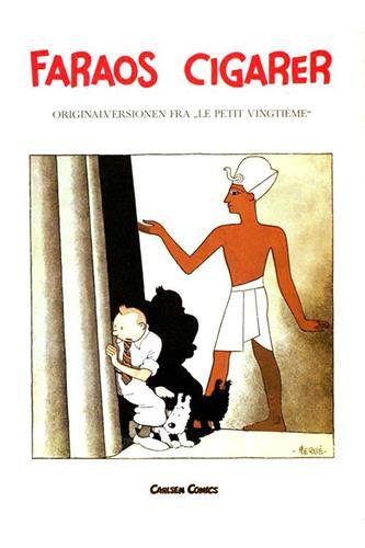 Originalversionen fra Le petit vingtième - Faraos cigarer