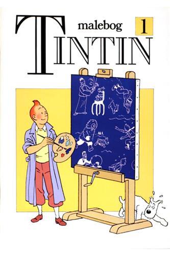 Tintin malebog Nr. 1