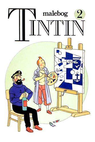 Tintin malebog Nr. 2