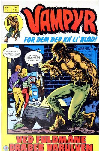 Vampyr 1972 Nr.1