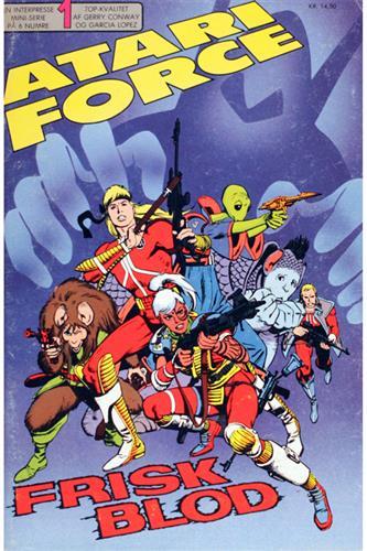Atari Force 1986 Nr. 1
