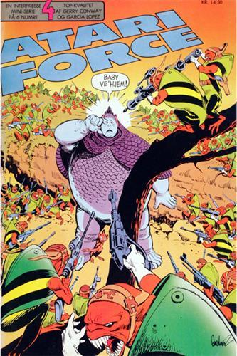 Atari Force 1986 Nr. 4