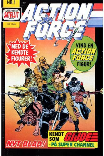 Action Force 1988 Nr. 1