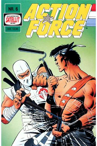 Action Force 1988 Nr. 6