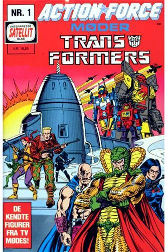 Action Force Møder Transformers 1988