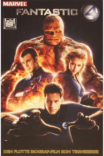 Fantastiske Fire 2005 - Tegneserieudgaven af Filmen