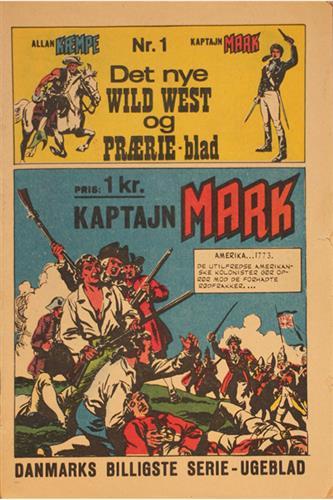Det Nye Wild West Og Prærie Blad 1967 Nr. 1