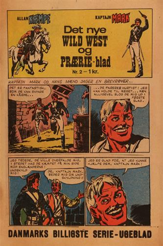 Det Nye Wild West Og Prærie Blad 1967 Nr. 2
