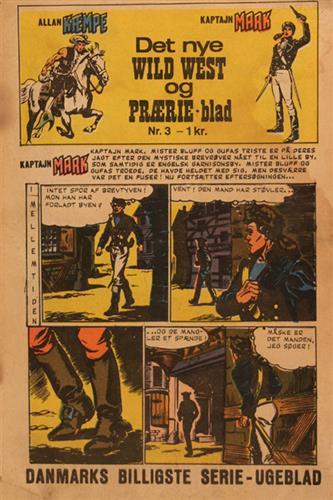 Det Nye Wild West Og Prærie Blad 1967 Nr. 3
