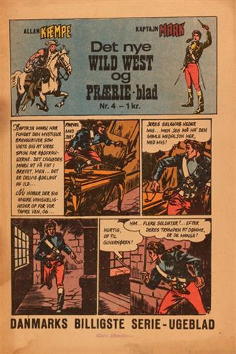 Det Nye Wild West Og Prærie Blad 1967 Nr. 4