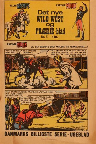 Det Nye Wild West Og Prærie Blad 1967 Nr. 5