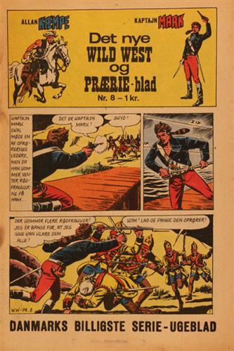 Det Nye Wild West Og Prærie Blad 1967 Nr. 8