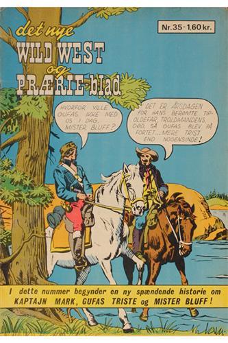 Det Nye Wild West Og Prærie Blad 1968 Nr. 35