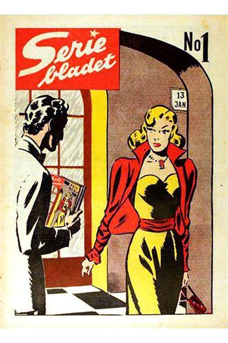 Seriebladet 1950 Nr. 1