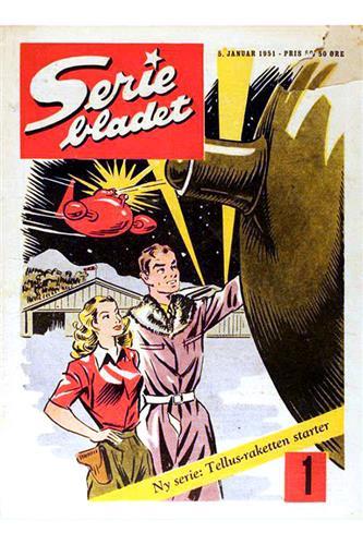 Seriebladet 1951 Nr. 1